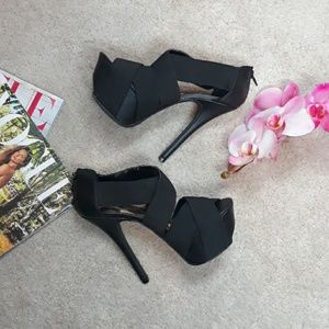 Qupid Black High Heels